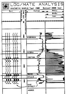 Seismic Modeling with LOG/MATE, 1981